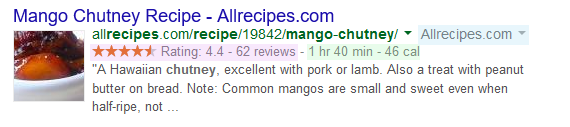 recipe example jsonld
